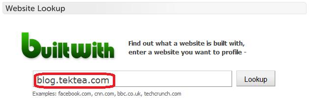 BuiltWith - 网站技术信息查询工具插图