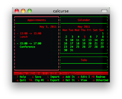 unix terminal/console/curses 工具介绍之一插图(11)