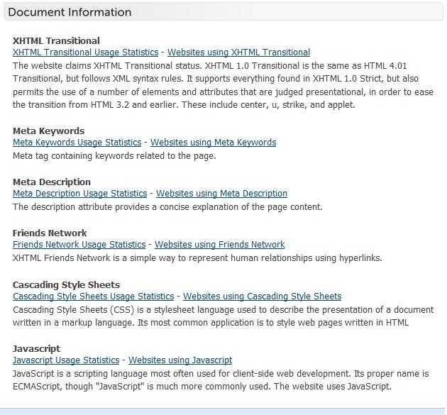 BuiltWith - 网站技术信息查询工具插图(4)