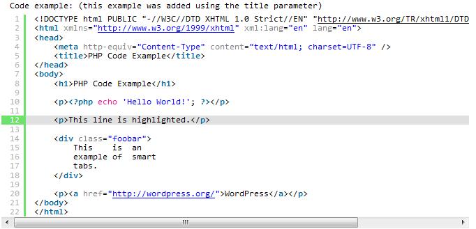 [WordPress]TekTea's Blog启用代码高亮插件SyntaxHighlighter Evolved插图