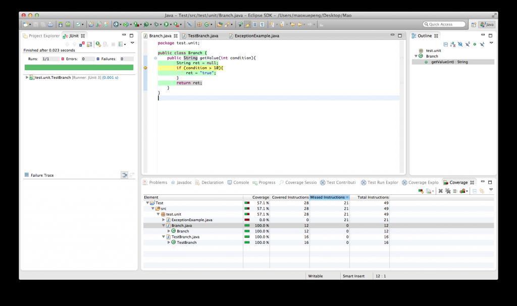 当我们在说:我们代码的测试覆盖率为100%的时候,我们在说什么插图(1)