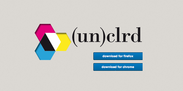 (un)clrd: uncolored你的网页插图