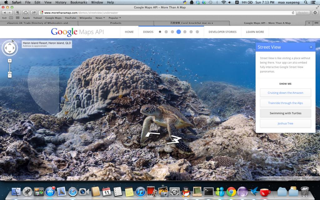 快来体验各式各样的Google Map API应用插图(1)