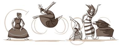 Google Doodle过去14年里最伟大的20个设计插图(11)