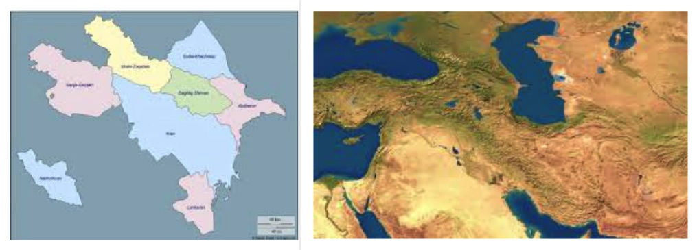 Google Map矢量地图新增加了地表状况图层显示插图