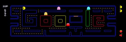 Google Doodle过去14年里最伟大的20个设计插图(14)