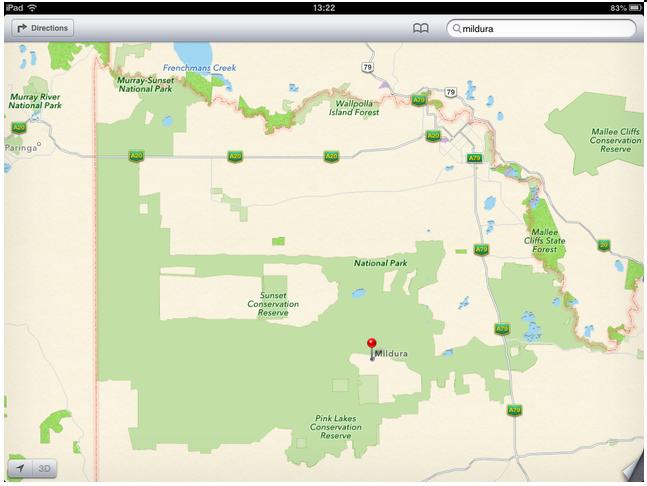 澳大利亚警方提醒司机朋友小心使用Apple Maps插图