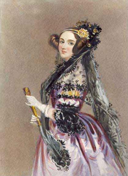 世界首位程序员是个美女:阿达·奥古斯塔(Ada Augusta Byro)插图(1)