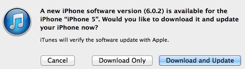 Apple发布iOS 6.0.2更新,修复Wi-Fi问题插图