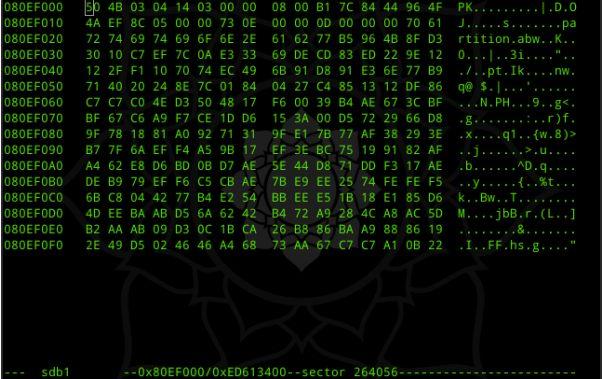 linux系统数据恢复,步骤16
