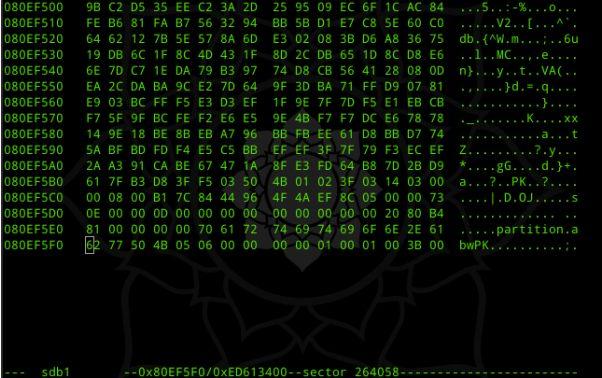 linux系统数据恢复,步骤17