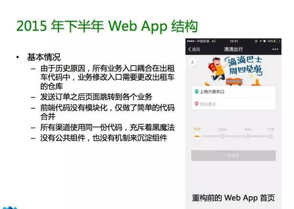 Web App结构