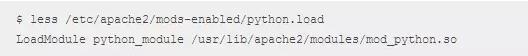 Ubuntu 12.04下3分钟搭建apache+python的运行环境插图(2)