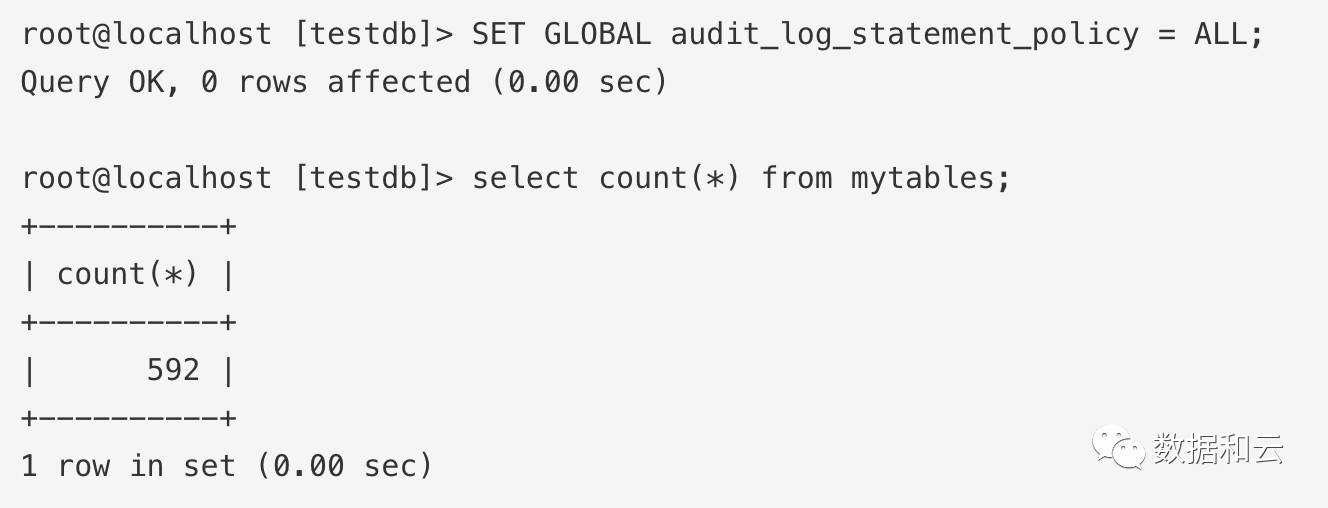 Oracle MySQL云服务上的MySQL企业版审计插图(16)