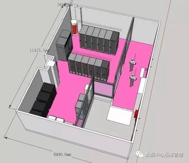小型机房怎样精细布局?插图(3)