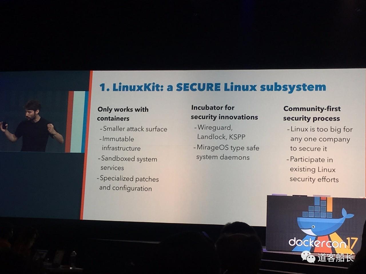 DockerCon 2017 D1: 发布 LinuxKit 染指 OS,Docker 项目演化为 Moby插图(7)