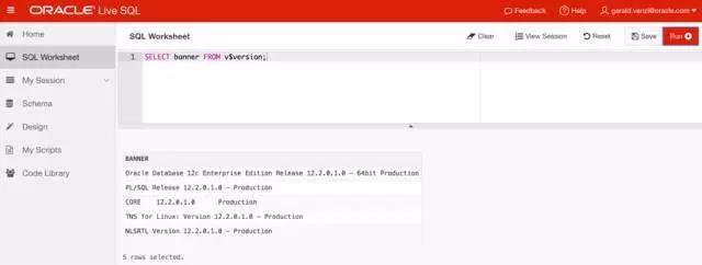 Oracle数据库 示例代码