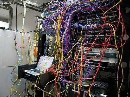机房服务器网线