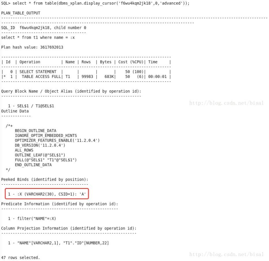 一个执行计划异常变更引发的Oracle性能诊断优化插图(19)