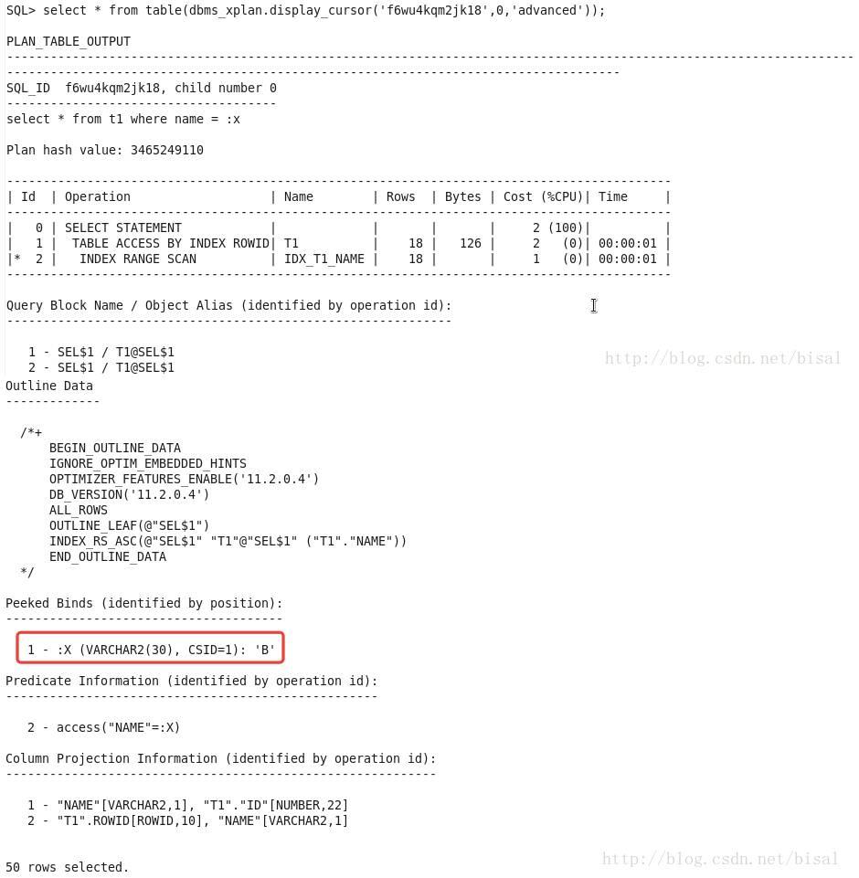 一个执行计划异常变更引发的Oracle性能诊断优化插图(22)