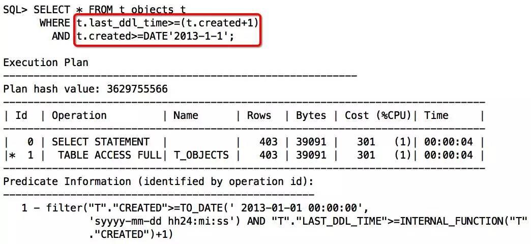 由索引未被使用,看SQL开发规范落地插图(18)