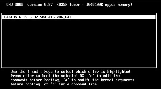如果CentOS的root密码忘了,如何找回来?插图(1)