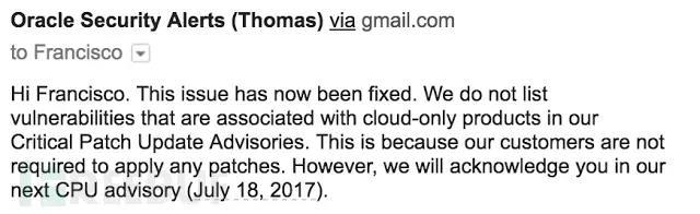 Oracle Responsys本地文件包含漏洞