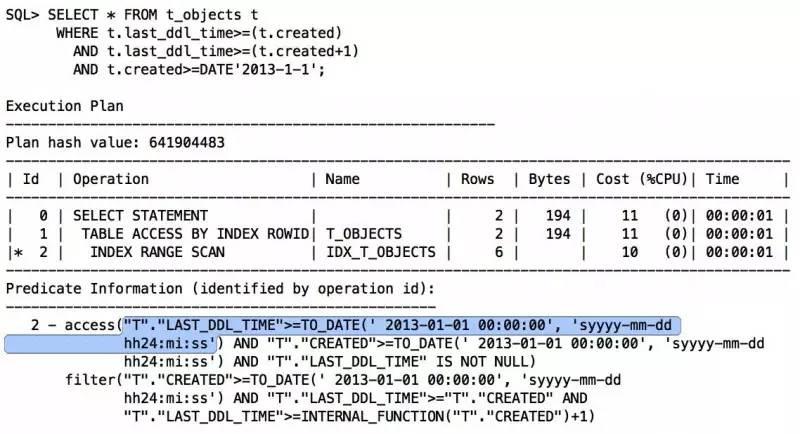 由索引未被使用,看SQL开发规范落地插图(19)