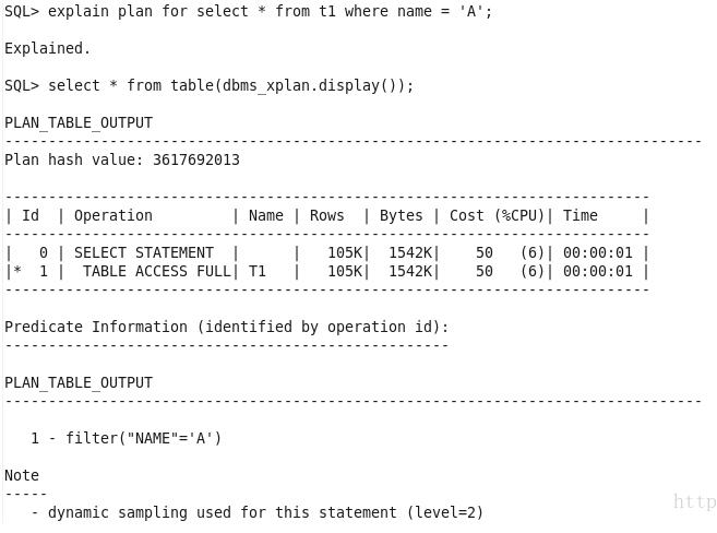 一个执行计划异常变更引发的Oracle性能诊断优化插图(1)
