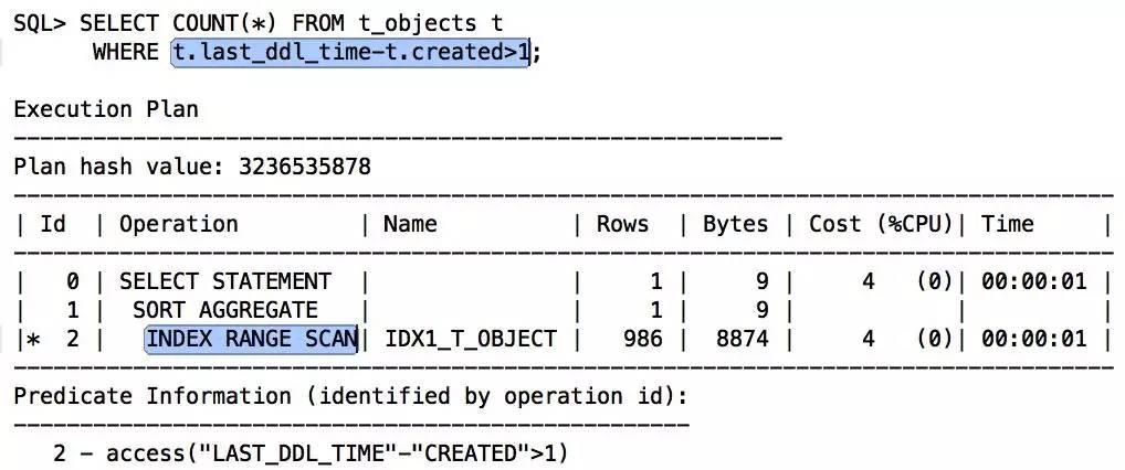 由索引未被使用,看SQL开发规范落地插图(23)