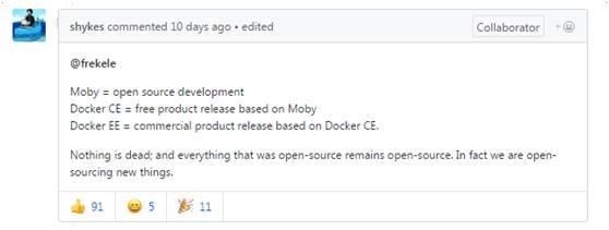 全面解读Moby和LinuxKit,Docker称沟通不善招致误解插图(6)
