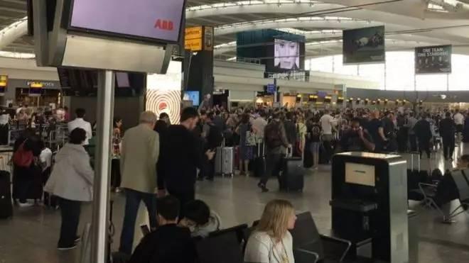 英国航空公司IT系统故障