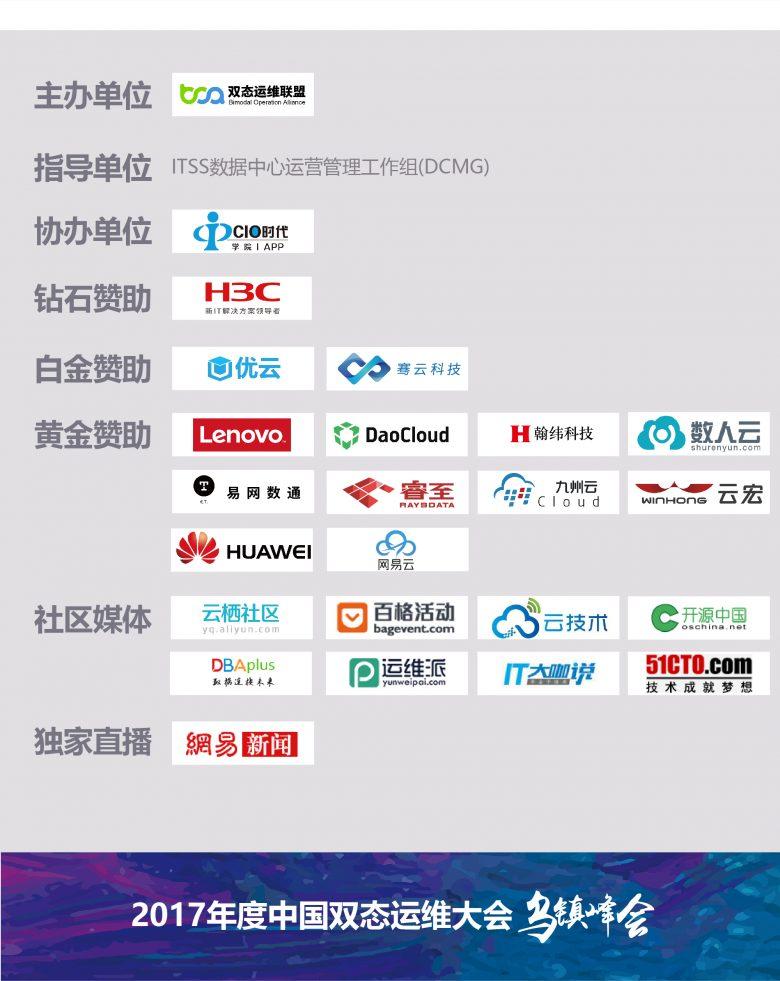 2017中国双态运维大会·乌镇峰会即将召开