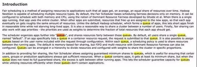 Hadoop跑满状态下的Yarn资源管理谈插图(3)