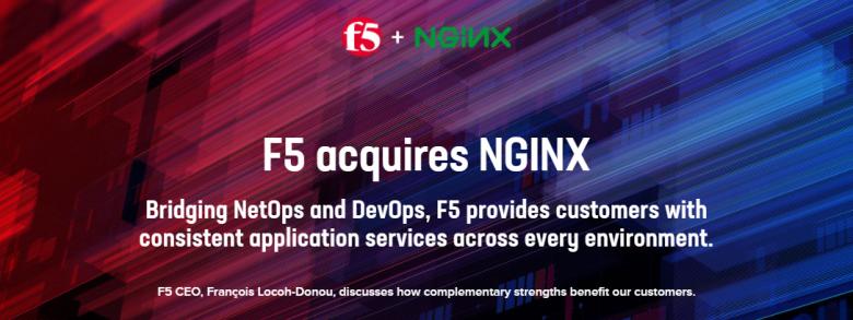 重磅消息:F5收购Nginx!插图