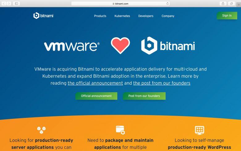 VMware收购另一家面向Kubernetes的初创公司:Bitnami插图