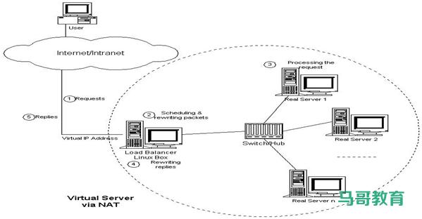 LVS 工作模式和相关命令插图