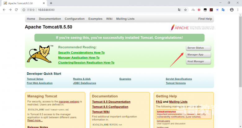tomcat实战案例: 应用部署实现基于WEB的管理插图