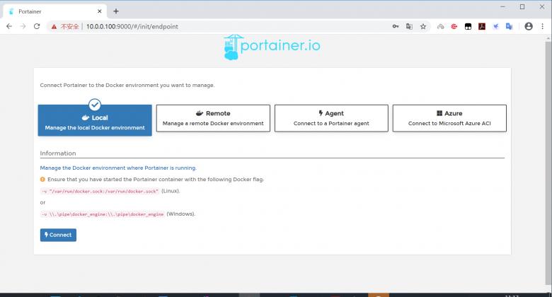 docker-可视化容器管理工具Portainer插图(1)